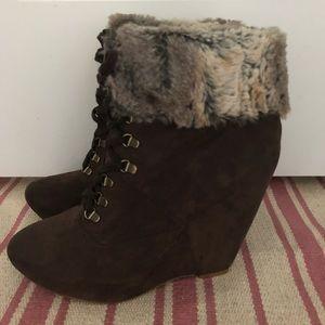Boutique 9 Faux Fur Booties